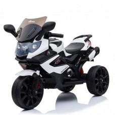 Детский мотоцикл Bambi M 3986 EL-1 BMW, белый