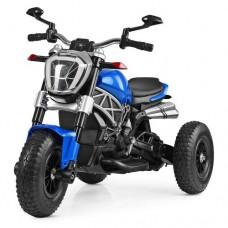 Детский мотоцикл Bambi M 4008 AL-4 BMW, синий