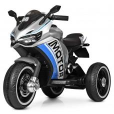 Детский мотоцикл Bambi M 4053 LS-11, серый