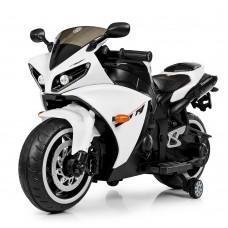 Детский мотоцикл Bambi M 4069 L-1 BMW, черно-белый