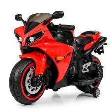 Детский мотоцикл Bambi M 4069 L-3 BMW, черно-красный
