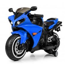 Детский мотоцикл Bambi M 4069 L-4 BMW, черно-синий