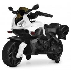 Детский мотоцикл Bambi M 4080 EL-1 BMW, белый