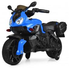 Детский мотоцикл Bambi M 4080 EL-4 BMW, синий