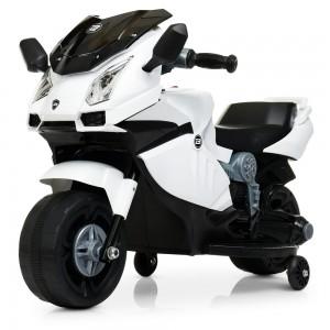 Детский мотоцикл Bambi M 4082-1 BMW, белый