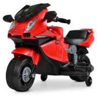 Детский мотоцикл Bambi M 4082-3 BMW, красный