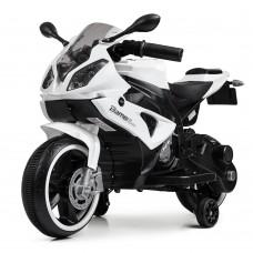 Детский мотоцикл Bambi M 4103-1 BMW, белый