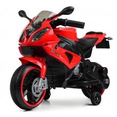 Детский мотоцикл Bambi M 4103-3 BMW, красный