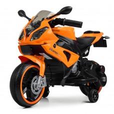 Детский мотоцикл Bambi M 4103-7 BMW, оранжевый