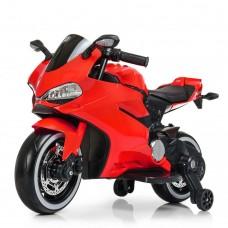 Детский мотоцикл Bambi M 4104 EL-3 Ducati, красный