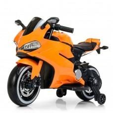 Детский мотоцикл Bambi M 4104 EL-7 Ducati, оранжевый