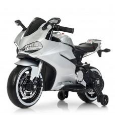 Детский мотоцикл Bambi M 4104 ELS-11 Ducati, серый