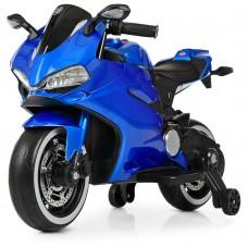 Детский мотоцикл Bambi M 4104 ELS-4 Ducati, синий