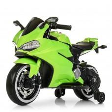 Детский мотоцикл Bambi M 4104 ELS-5 Ducati, зеленый
