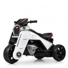 Детский мотоцикл Bambi M 4113 EL-1, белый