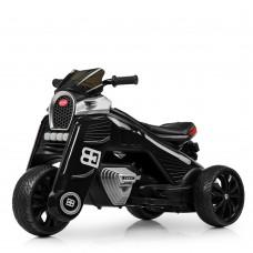 Детский мотоцикл Bambi M 4113 EL-2, черный