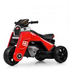 Детский мотоцикл Bambi M 4113 EL-3, красный