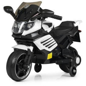 Детский мотоцикл Bambi M 4116-1 BMW, белый