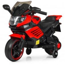 Детский мотоцикл Bambi M 4116-3 BMW, красный