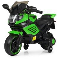 Детский мотоцикл Bambi M 4116-5 BMW, зеленый
