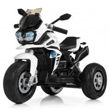 Детский мотоцикл Bambi M 4117 EL-1 BMW, белый