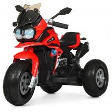 Детский мотоцикл Bambi M 4117 EL-3 BMW, красный