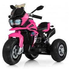 Детский мотоцикл Bambi M 4117 EL-8 BMW, розовый