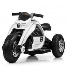 Детский мотоцикл Bambi M 4134 A-1, белый