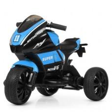 Детский мотоцикл Bambi M 4135 EL-4 Yamaha, черно-синий