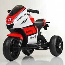 Детский мотоцикл Bambi M 4135 L-1-3 Yamaha, бело-красный