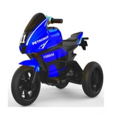 Детский мотоцикл Bambi M 4135 L-4 Yamaha, черно-синий