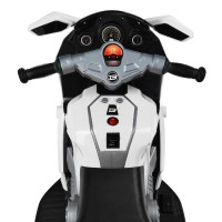 Детский мотоцикл Bambi M 4160-1 BMW, белый