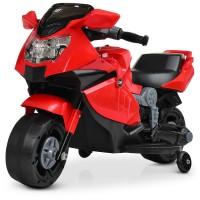 Детский мотоцикл Bambi M 4160-3 BMW, красный
