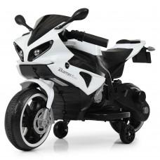 Детский мотоцикл Bambi M 4183-1 Yamaha R1, белый