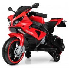 Детский мотоцикл Bambi M 4183-3 Yamaha R1, красный