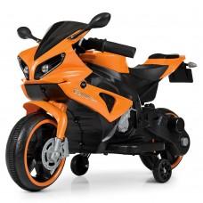 Детский мотоцикл Bambi M 4183-7 Yamaha R1, оранжевый