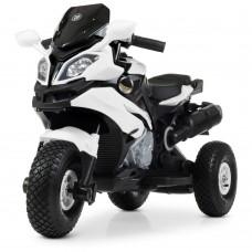Детский мотоцикл Bambi M 4188 AL-1 BMW, белый
