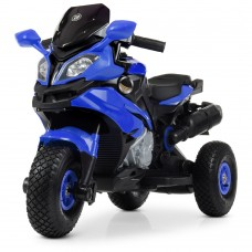 Детский мотоцикл Bambi M 4188 AL-4 BMW, синий