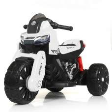 Детский мотоцикл Bambi M 4193 EL-1 BMW, белый