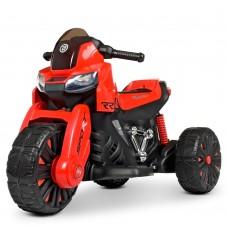 Детский мотоцикл Bambi M 4193 EL-3 BMW, красный