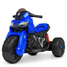 Детский мотоцикл Bambi M 4193 EL-4 BMW, синий