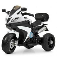 Детский мотоцикл Bambi M 4195 EL-1 BMW, белый