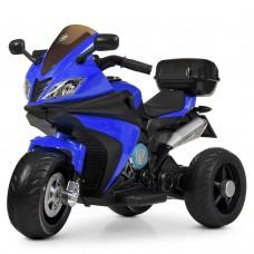 Детский мотоцикл Bambi M 4195 EL-4 BMW, синий