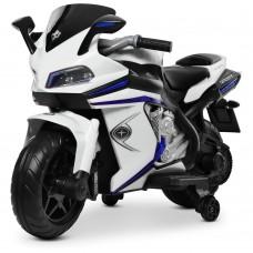 Детский мотоцикл Bambi M 4202 EL-1 BMW, белый