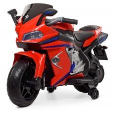 Детский мотоцикл Bambi M 4202 EL-3 BMW, красный
