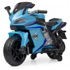 Детский мотоцикл Bambi M 4202 EL-4 BMW, синий