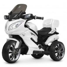 Детский мотоцикл Bambi M 4204 EBLR-1 Suzuki, белый