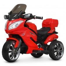 Детский мотоцикл Bambi M 4204 EBLR-3 Suzuki, красный