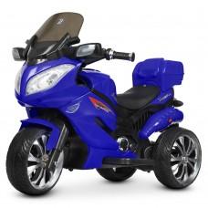 Детский мотоцикл Bambi M 4204 EBLR-4 Suzuki, синий