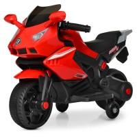 Детский мотоцикл Bambi M 4215-3 BMW, красный